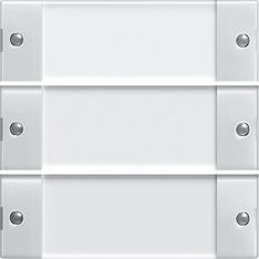 gira beschriftungsservice beschriftung f r wippenset 3fach reinwei gl nzend. Black Bedroom Furniture Sets. Home Design Ideas